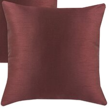 Shantung Polyester Pillow (Set of 2)