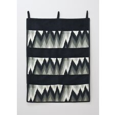 Coram Ebony Pocket Hanging Art