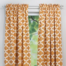 Fynn Cinnamon Macon Curtain Single Panel