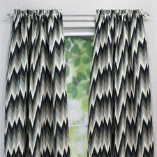 <strong>Chooty & Co</strong> Coram Ebony Curtain Single Panel