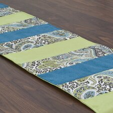 Paisley Pieced Table Runner