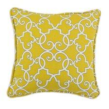 Woburn Sunflower Self Backed Corded D-Fiber Pillow