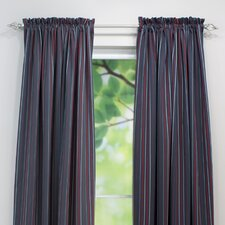 Multi Stripe Curtain Single Panel