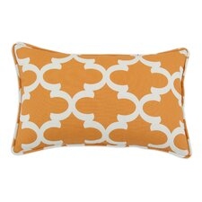 <strong>Chooty & Co</strong> Fynn Cinnamon Macon Self Backed Corded Fiber Pillow