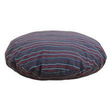 Multi Stripe Round Pet Bed