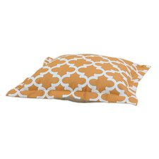 Fynn Cinnamon Flanged Pet Bed with Organic Cotton Back