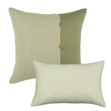 Oxford Breeze Cotton  Pillow (Set of 2)