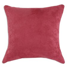 Passion Suede Euro Sham in Dusty Rose