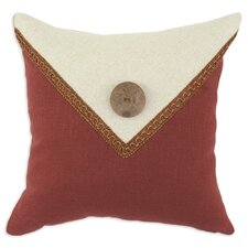 <strong>Chooty & Co</strong> Circa Linen Lava - Linen Natural Envelope Button Pillow