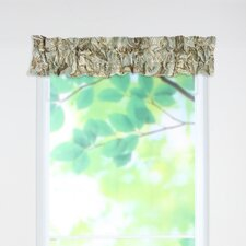 "Valdosta Rod Pocket Ruffled Sleeve Topper 54"" Curtain Valance"