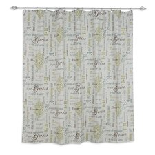 Chatsworth Standard Cut Cotton Shower Curtain