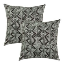 Wells Cotton KE  Pillow (Set of 2)