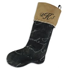 Pen Monogrammed Stocking