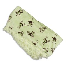 <strong>Chooty & Co</strong> Shaggy Polyester Reversible Throw