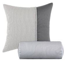 Oxford Hyannis Vertical Twist and Oxford Bolster Cotton / Polyester Pillow (Set of 2)