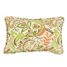 Findlay Apricot Corded Linen Pillow