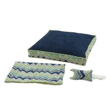 See Saw 3 Piece Boxed Dog Bed Set