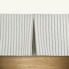 Dublin Stripe Linen Pleated Bed Skirt