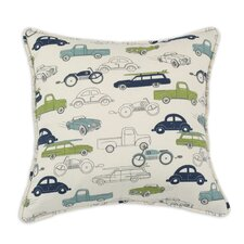 Retro Rides Felix Cotton Pillow