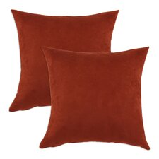 Passion Suede Polyester Pillow (Set of 2)