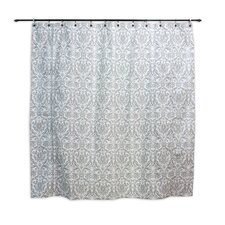 Abigail Twill Cotton Shower Curtain
