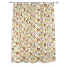 Maya Poppy Shower Curtain