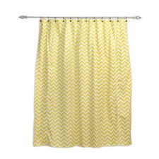 Zig Zag Shower Curtain