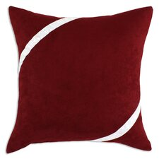 Passion Suede Bubble Ribbon Pillow