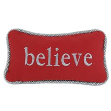 "Nile ""Believe"" Pillow"