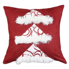 Passion Suede Joker Santa Hat Pillow