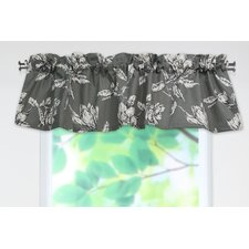 <strong>Chooty & Co</strong> Antebellum Cotton Rod Pocket Tailored Curtain Valance