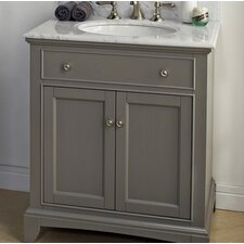 "Smithfield 30"" Vanity in Medium Gray"