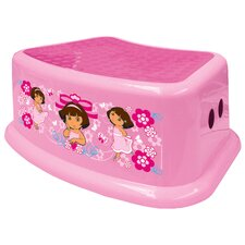 Nickelodeon Dora the Explorer Step Stool in Superstyle Pink
