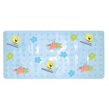 Nickelodeon SpongeBob SquarePants Dimensional Vinyl Bath Mat Surfin