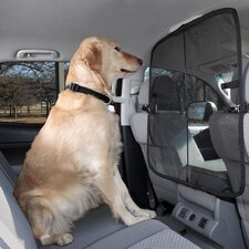 Front Seat Net Dog Barrier
