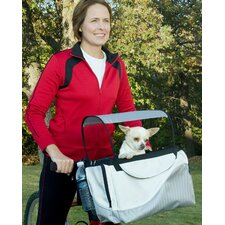 Tagalong Sport Pet Bicycle Basket in Silver