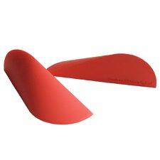 The Ooob Doorstop / Bookend in Red (Set of 2)