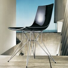 <strong>Luxo by Modloft</strong> Audley Leg Side Chair