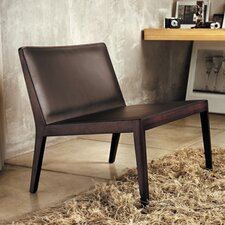 Frith Leather Slipper Chair