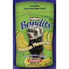 Bandit Ferret Treats Banana 4 oz.