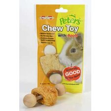 Chew Toy With Apple