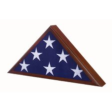 Veteran Flag Case / Urn in Walnut