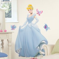 <strong>Room Mates</strong> Licensed Designs Cinderella Giant Wall Decal