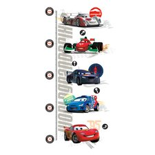 Cars 2 Peel and Stick Metric Growth Chart
