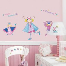 <strong>Room Mates</strong> Studio Designs Princess Wall Decal