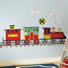 Megapacks 57 Piece All Aboard Wall Decal Set