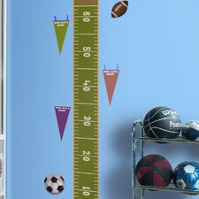 Studio Designs Play Ball Growth Chart Wall Decal