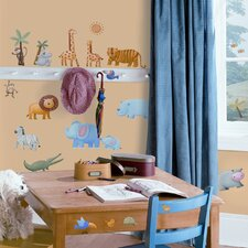 Studio Designs 29 Piece Jungle Adventure Wall Decal Set