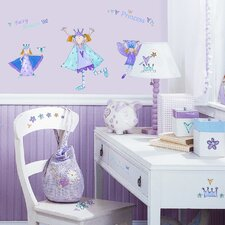 Studio Designs 23 Piece Fairy Princess Wall Decal Set