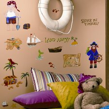 Studio Designs 45 Piece Treasure Hunt Wall Decal Set